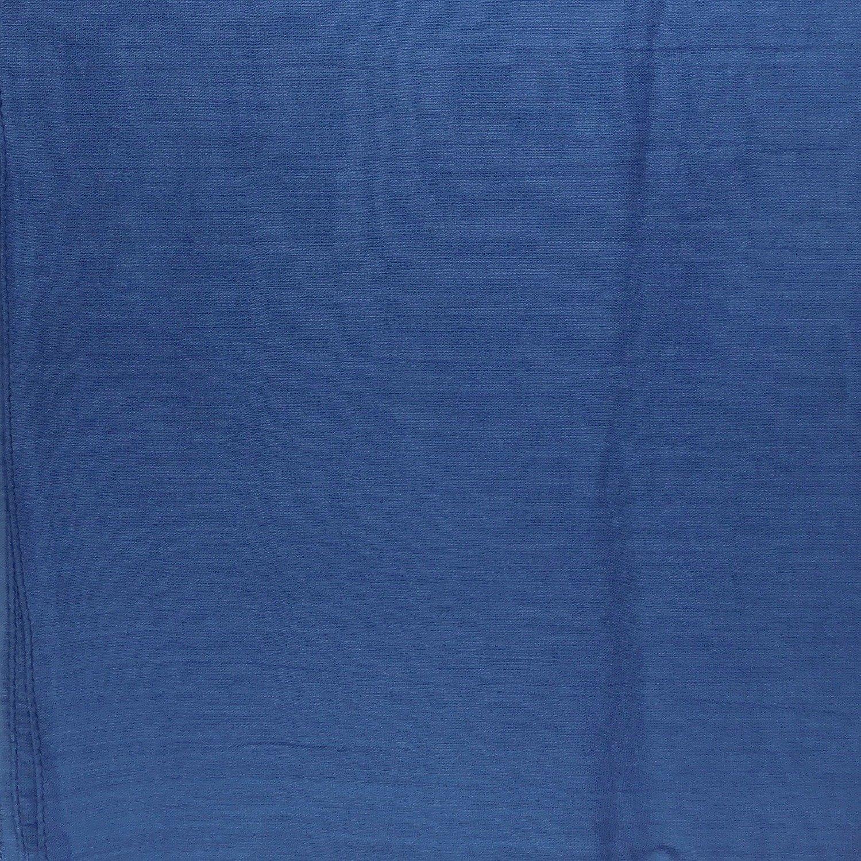 Denim color solid cotton tichel headscarve
