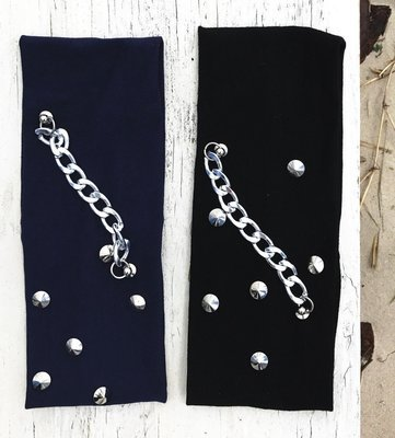 Headbands for ladies with chain design