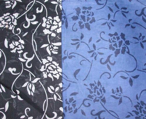 Black floral tichels