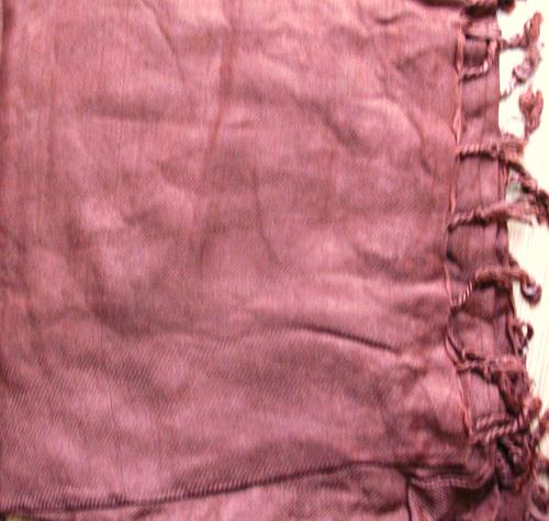 Quilted tichel light brown
