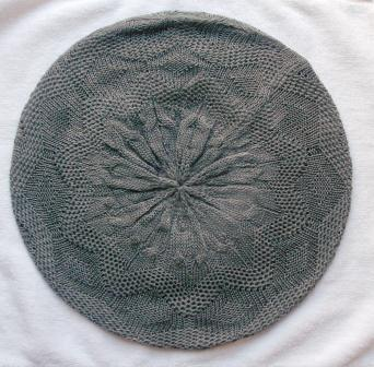 Super lightweight beret gray