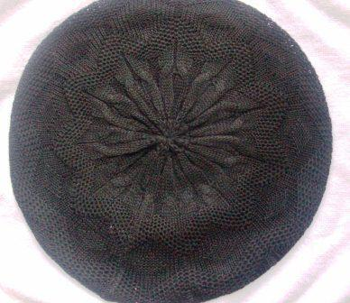 Super lightweight beret  black