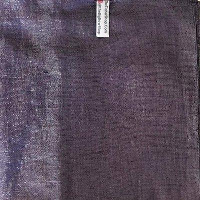 Purple solid shimmer tichel