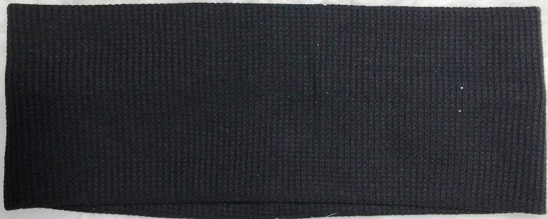 Waffle cotton flat headbands