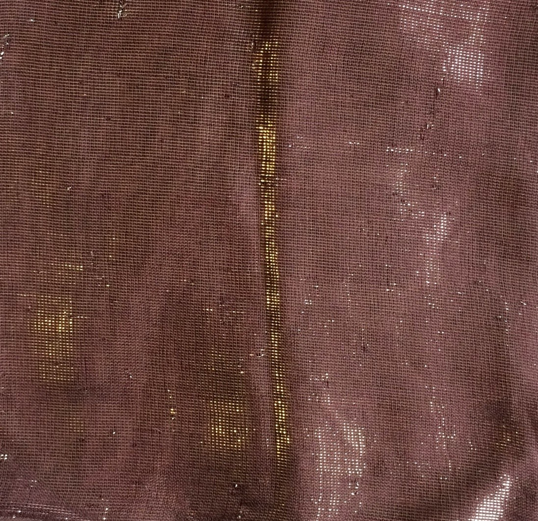 Plum solid shimmer tichel