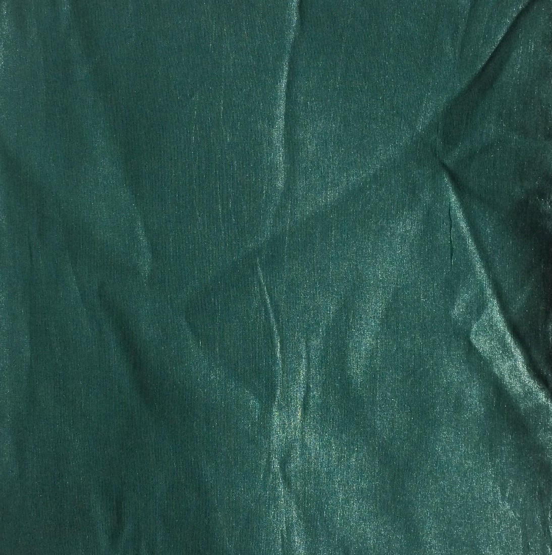 Green solid color sheen tichel