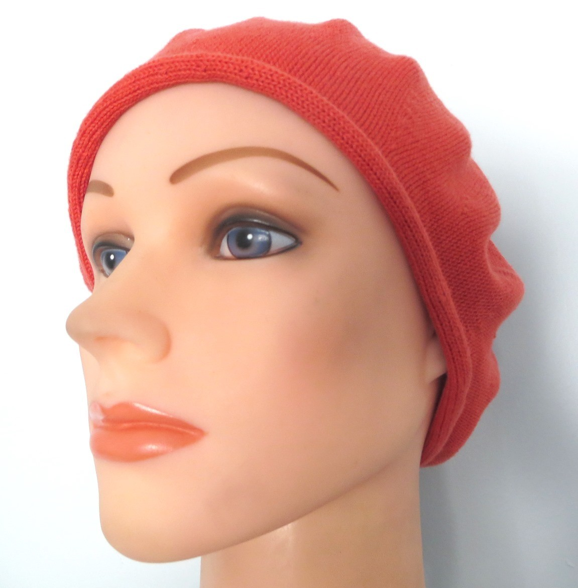 Cotton beret orange