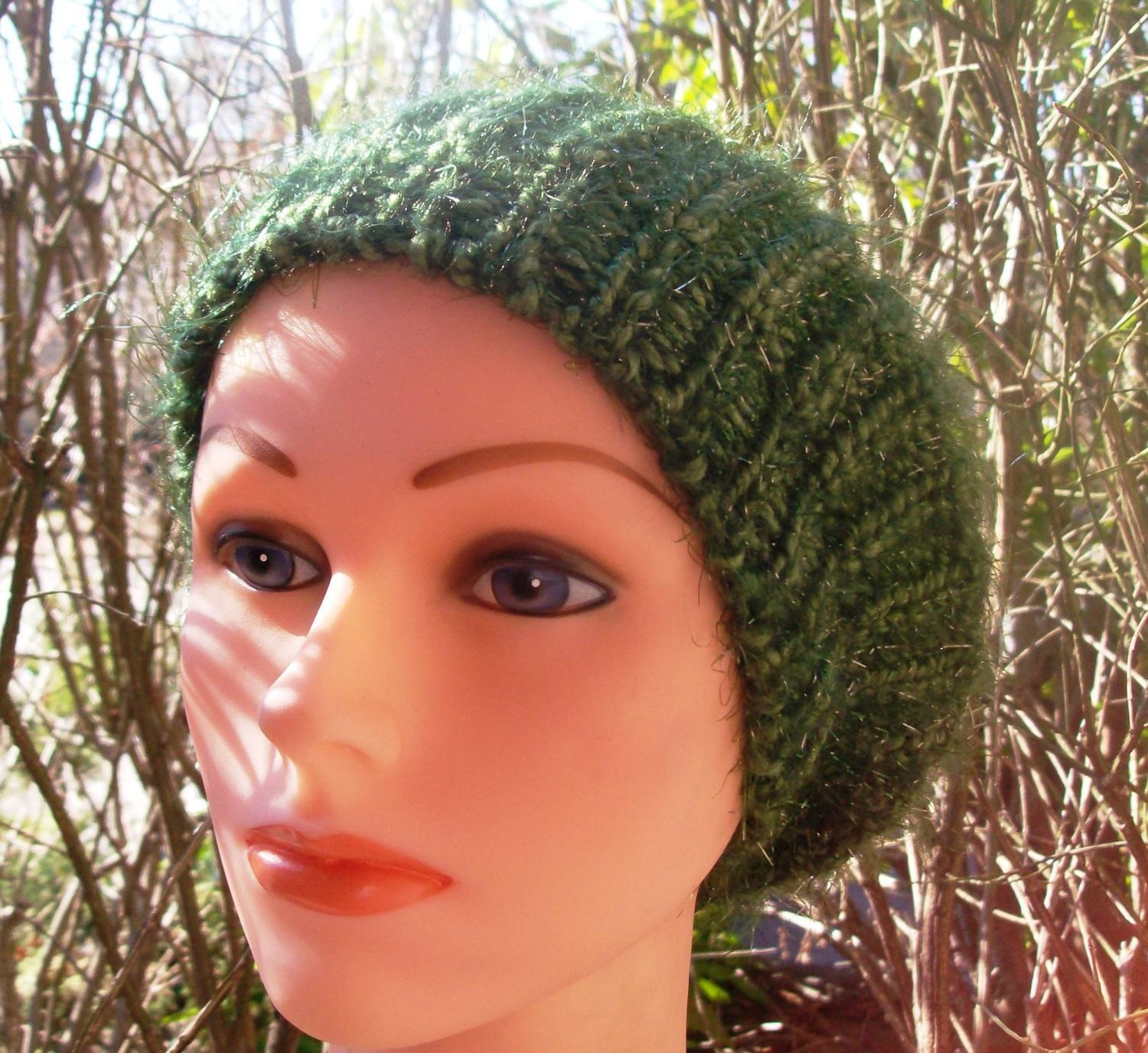 Shimmer beret army green
