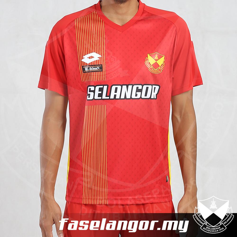 Selangor Lotto Original Home Shirt 2017 00026