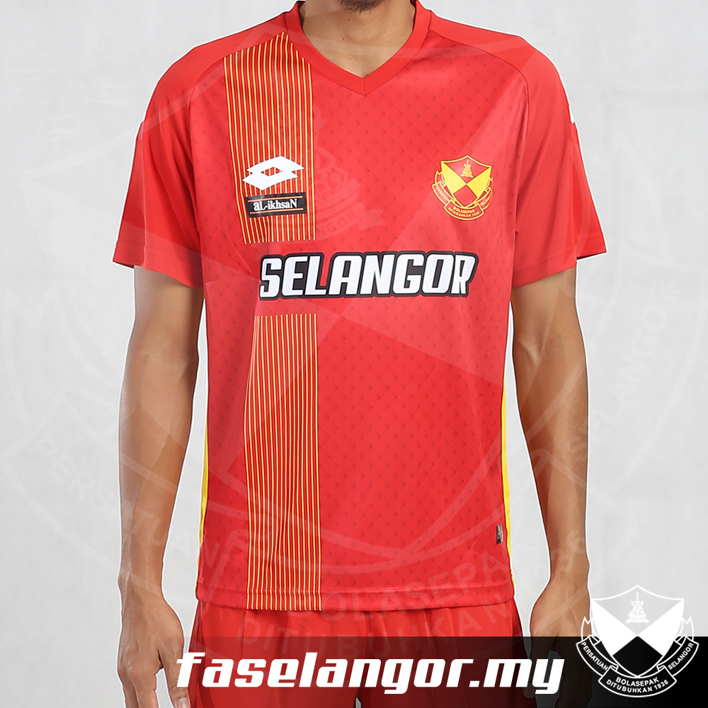 Selangor Lotto Original Home Shirt 2017