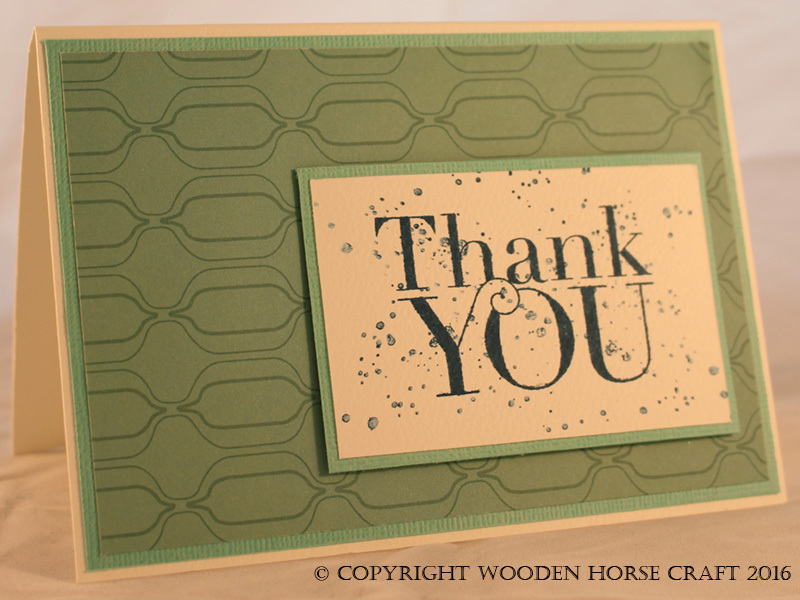 Card: Thank you thankyou_ocean_geometric