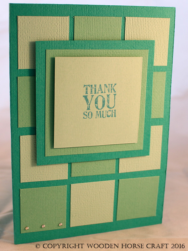 Card: Thank you thanks_ocean_squares