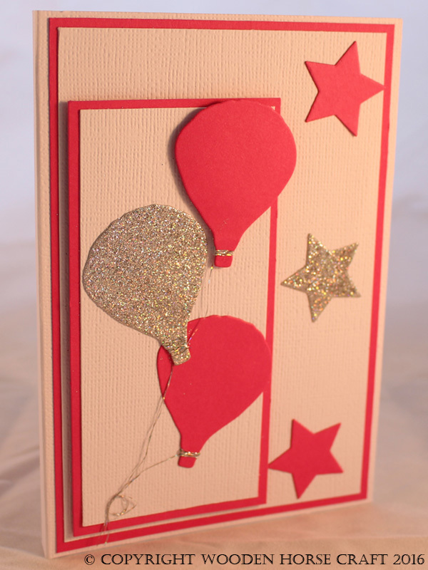 Card: Any Occasion (Blank) blank_pink_balloons