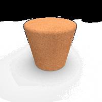 Decoratief eindstuk Smart Cone | H 4,6 cm