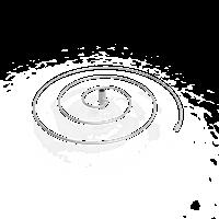 Spiraal steun van Ø 30 cm