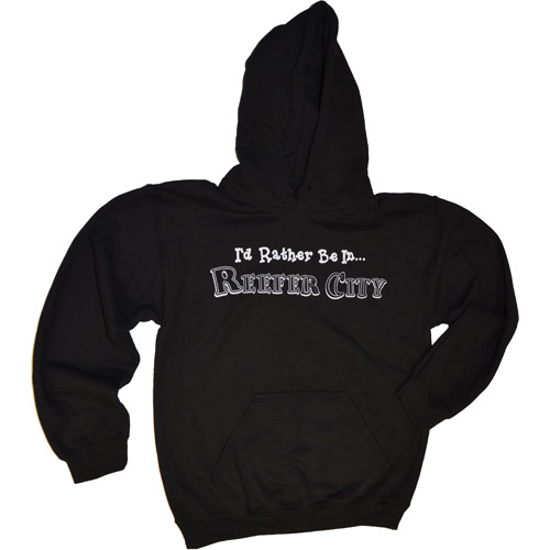"""I'd Rather Be In...Reefer City"" Hoodie"