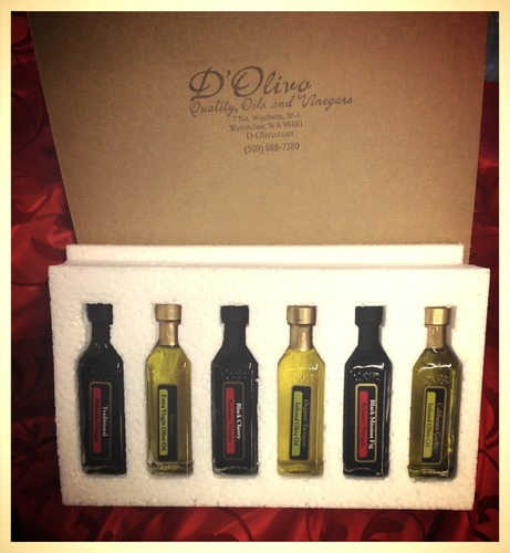"D'Olivo ""Culinary Adventure"" Grab & Go Gift Pack- 6, 60 ml bottles gift-gourmet"