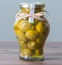 Garlic Stuffed Gordal Olives Garlic stuffed