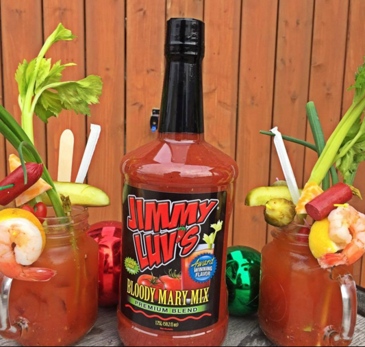 Jimmy Luv's Bloody Mary Mix Original Bloody