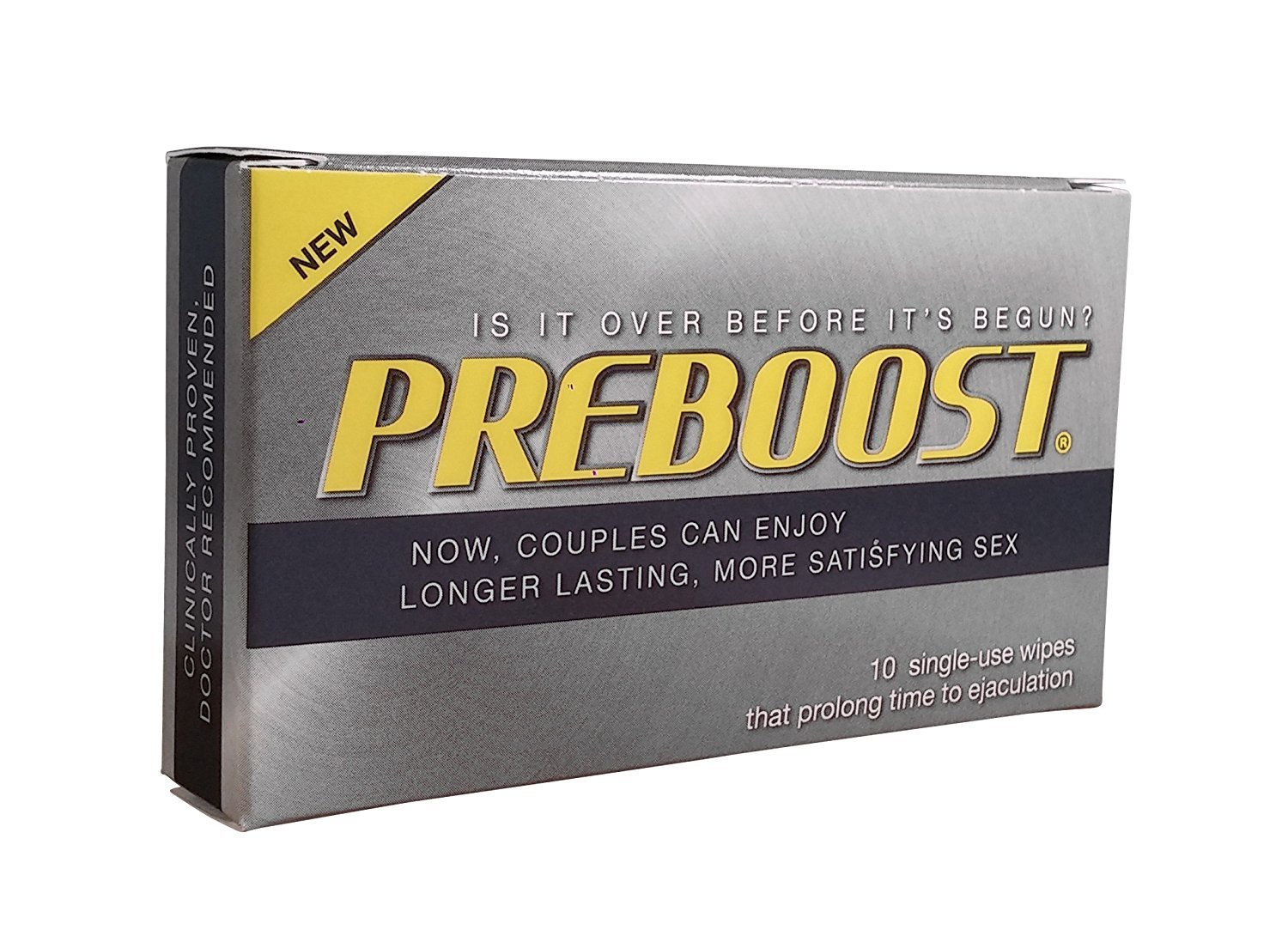 PREBOOST 10 single-use wipes 21180