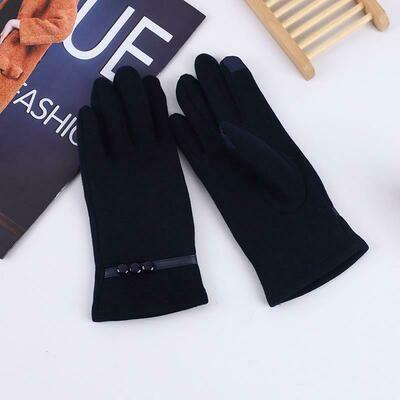 Women Touch Screen Winter Autumn Warm Wrist Driving Windproof Gloves