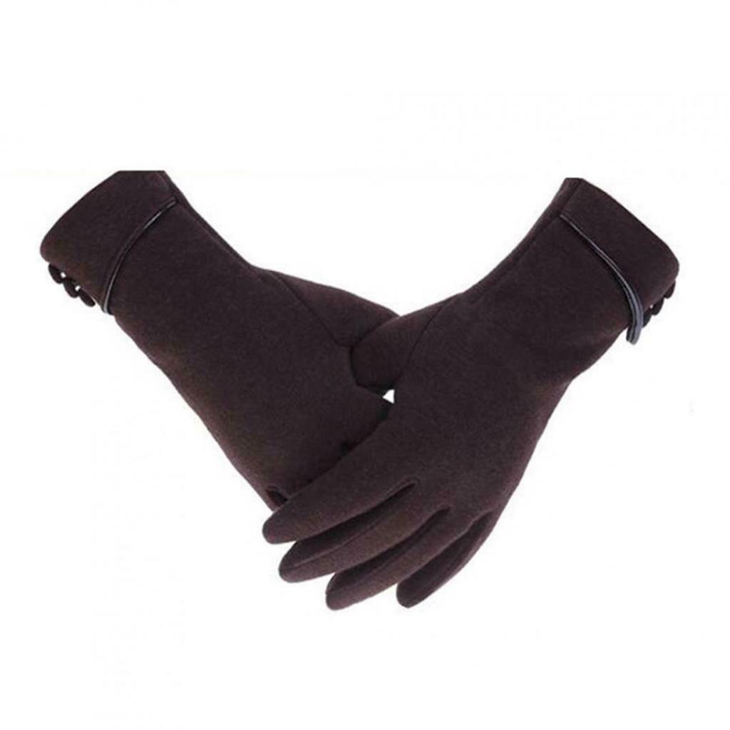 Fashion Elegant Phone Touch Screen Women Warm Windproof Outdoor Sport Gloves
