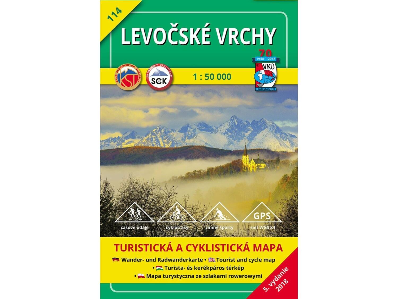 TM 114 - Levočské vrchy