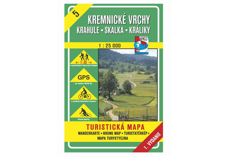 TM 5 - Kremnické vrchy - Krahule, Skalka, Králiky