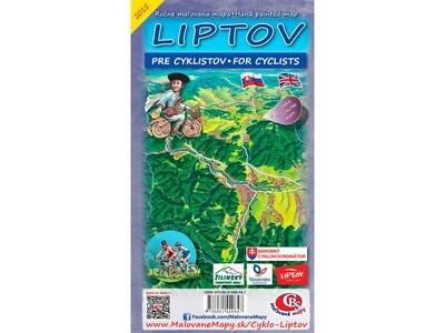 Cyklomapa Liptov