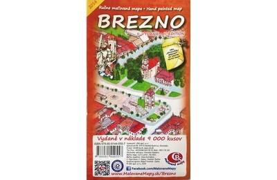 MAPA mesta Brezno II.vydanie 2014