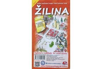 MAPA mesta Žilina IV. Vydanie