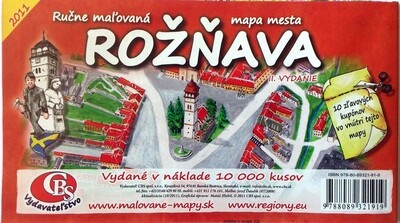 MAPA Rožňava II.vydanie