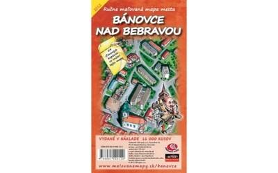 MAPA mesta Bánovce nad Bebravou I.vydanie