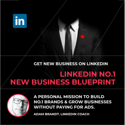 How to win on Linkedin. Get the Blueprint & Playbook. Masterclasses sold separately.