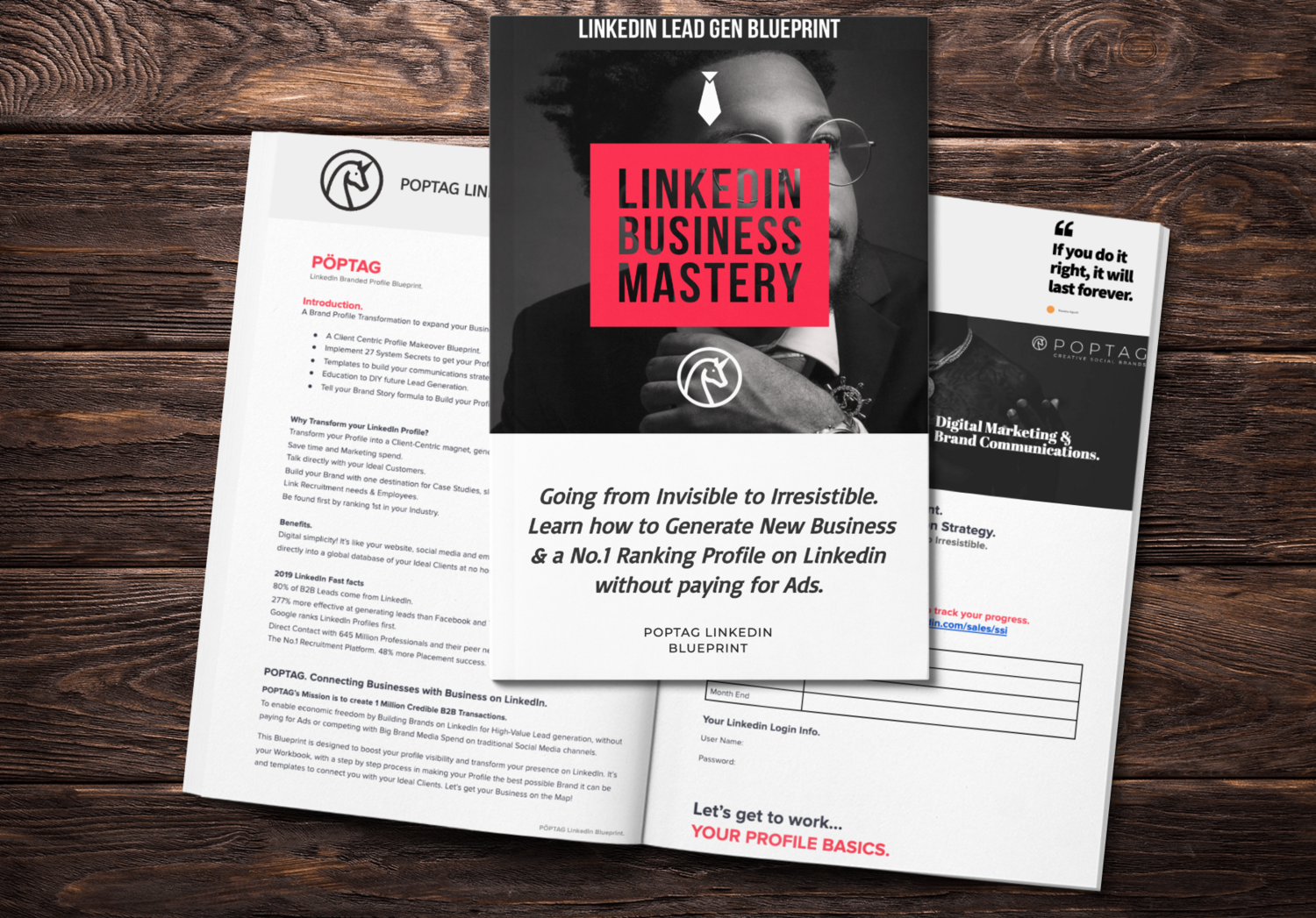 LinkedIn Personal Brand-Blueprint. How To Generate Targeted Leads and Dramatically Increase Sales For Your Business.