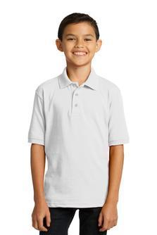 Port & Company® Youth 5.5-Ounce Jersey Knit Polo
