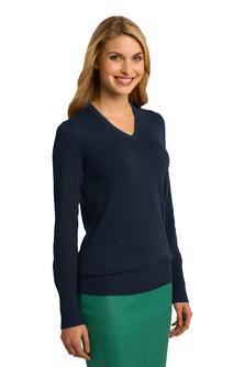 Port Authority® Ladies V-Neck Sweater LSW285