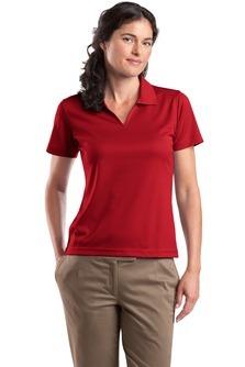L469 Ladies Dri-Mesh® V-Neck Polo