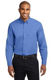 S608 Port Authority® Mens Long Sleeve Easy Care Shirt