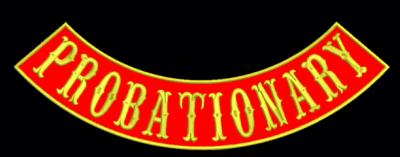Probationary Bottom Rocker