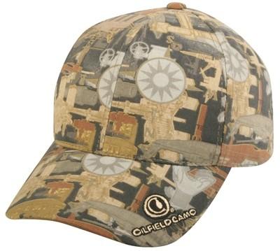 Dozen Oilfield Visor Caps Logo Included
