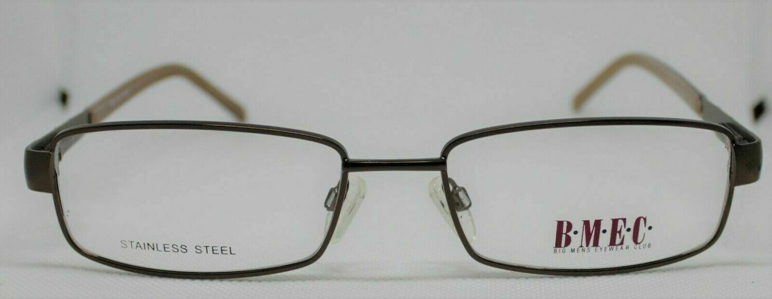BIG MEN EYEWEAR CLUB Stainless steel Frank Prescription Eye Glasses frames 58-20