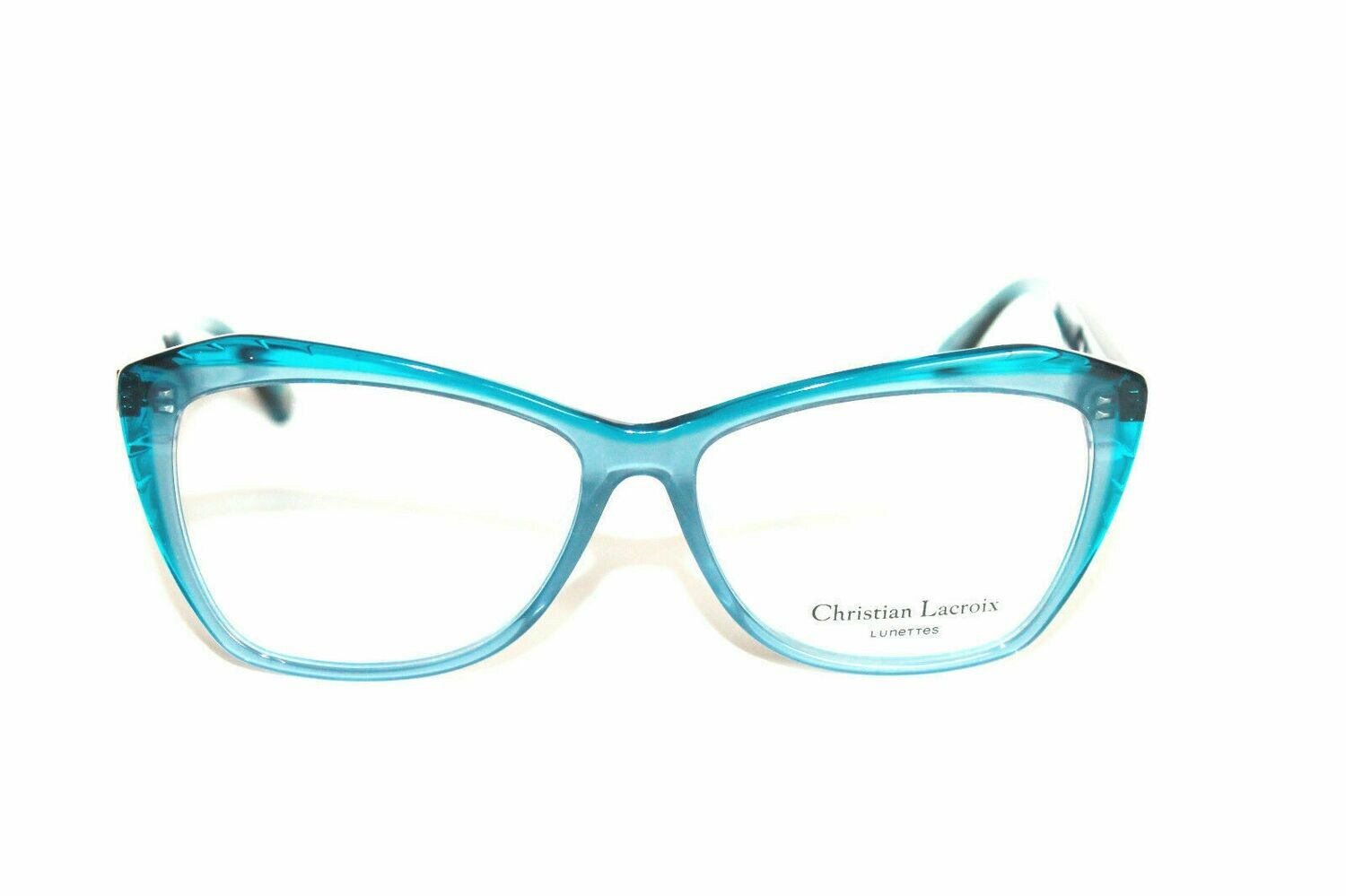 Christian Lacroix Eyeglasses CL1077 Bleu New Authentic 55mm Case Included