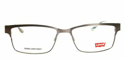 2 Pair Authentic and New Levi's LS107 eyeglass frames Gun and Blue