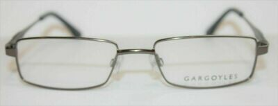 Gargoyles eyeglass frames Starter in Gun New with case 53-18-140