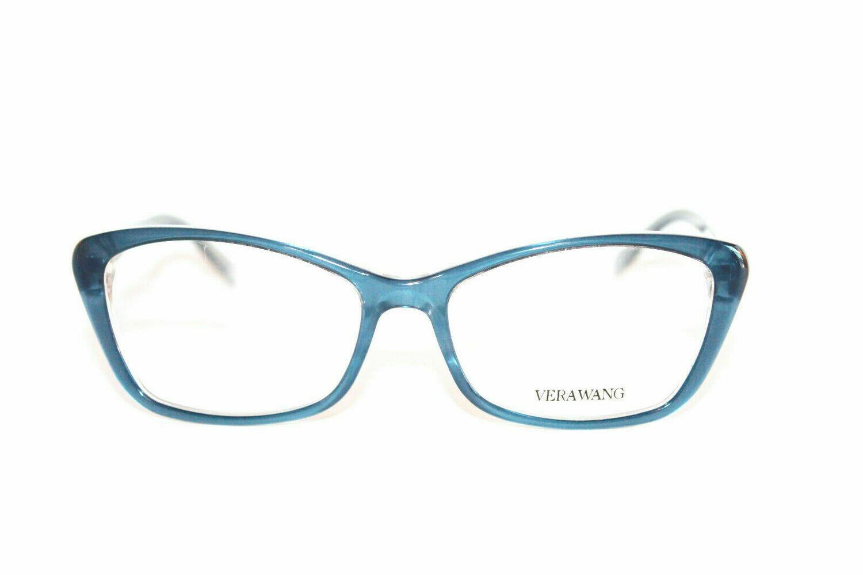 VERA WANG Eyeglasses V384 Midnight 53-16-137 Authentic and New