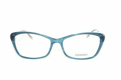 VERA WANG Eyeglasses V384 Midnight 53-16-137 Authentic and New