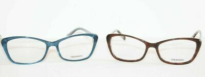 3 PAIR New VERA WANG Eyeglasses V384 Brown, Midnight and Black 53 Eye