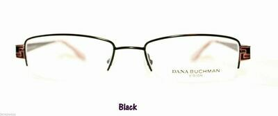 New DANA BUCHMAN BARBEAU EYEGLASS FRAMES in Black