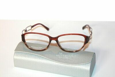 Charmant Line Art Women's Eyeglasses 2033 RE Red Optical Frame 53mm
